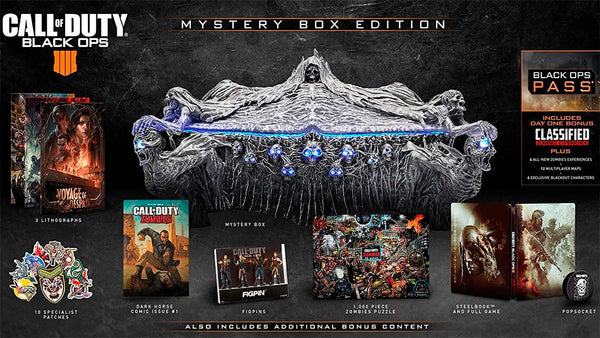 CALL OF DUTY BLACK OPS 4 MYSTERY BOX EDITION.-PS4