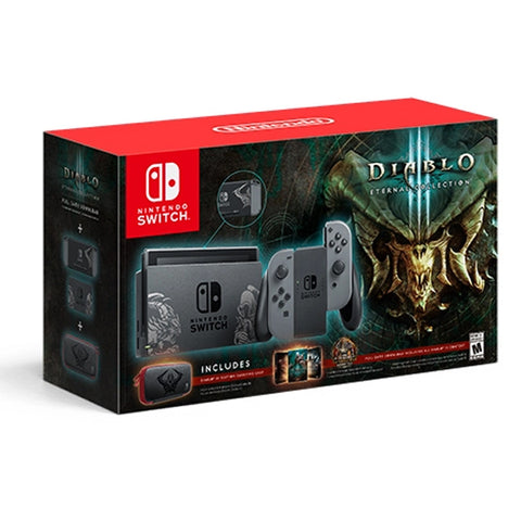 CONSOLA SWITCH BUNDLE DIABLO 3.-NSW - Gamers
