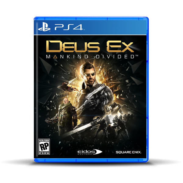 DEUS EX MANKIND DIVIDED.-PS4