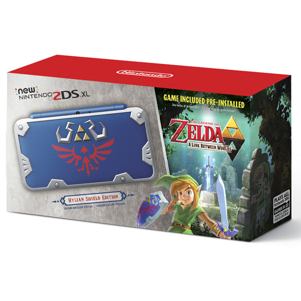 NEW 2DS XL HYLIAN SHIELD EDITION-2DS XL