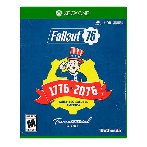 FALLOUT 76 TRICENTENNIAL EDITION.-ONE - Gamers