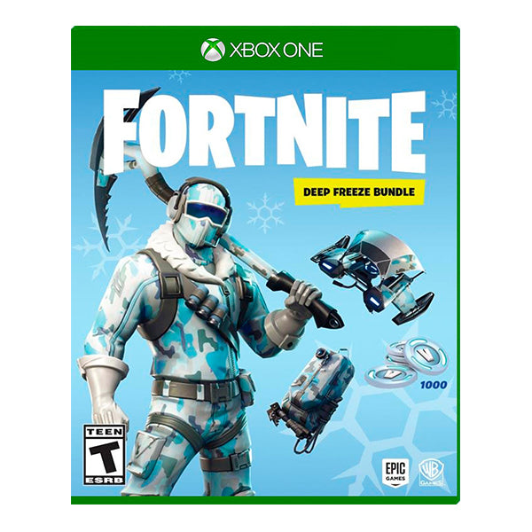 PREVENTA FORNITE DEEP FREEZE BUNDLE-ONE