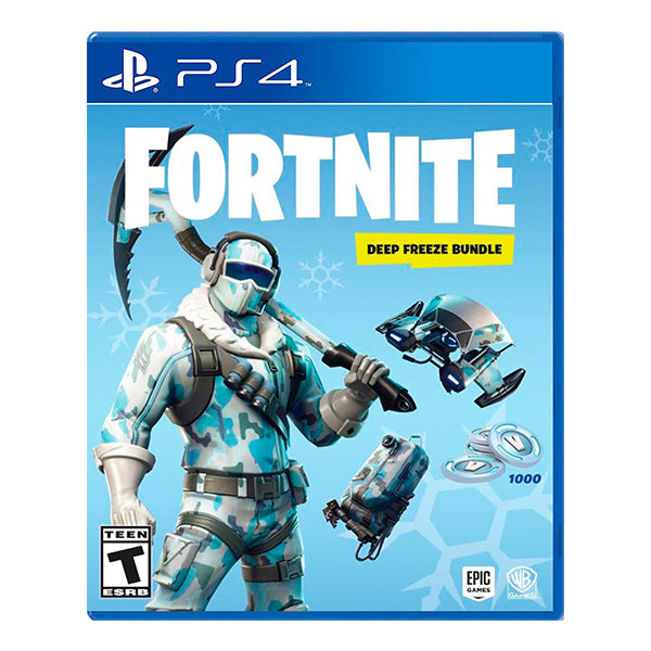 FORNITE DEEP FREEZE BUNDLE-PS4
