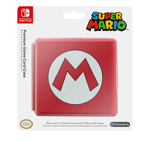 GAME CARD CASE MARIO SILHOUETTE.-NSW - Gamers