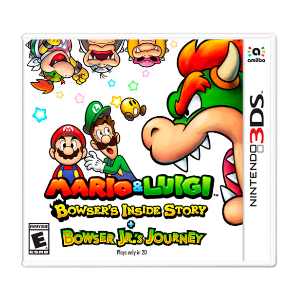 MARIO & LUIGI BOWSERS INSIDE STORY.-3DS