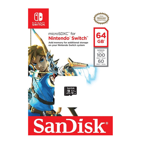 MICRO SD SDXC SANDISK FOR NINTENDO.-NSW