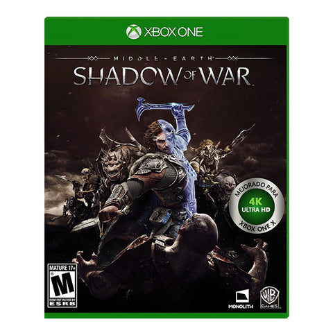 MIDDLE EARTH SHADOW OF WAR.-ONE - Gamers