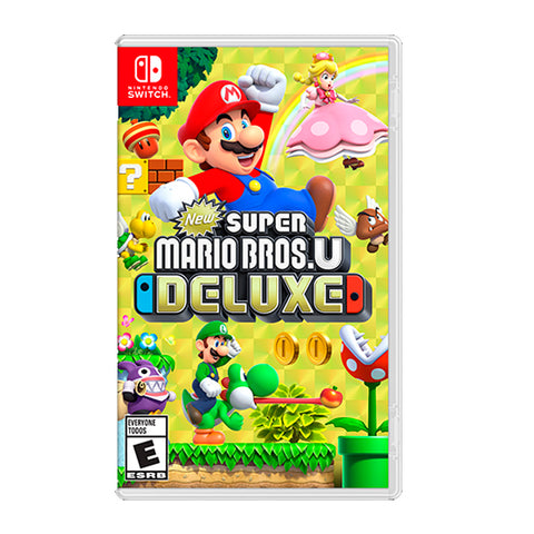 NEW SUPER MARIO BROS U DELUXE.-NSW - Gamers