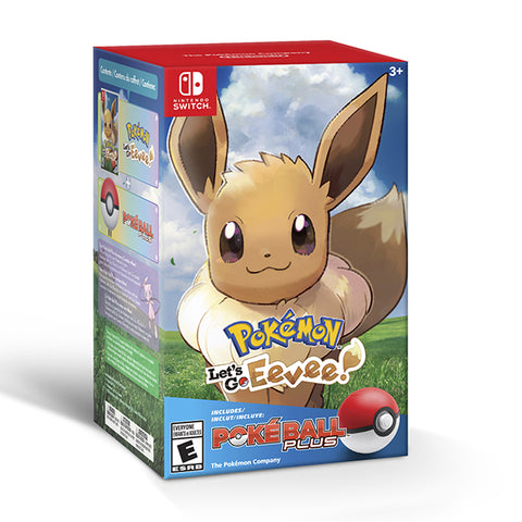 POKEMON LETS GO EEVE+ POKEBALL PLUS.-NSW