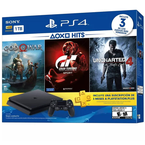 PS4 1TB HITS BUNDLE 3.-PS4 - Gamers