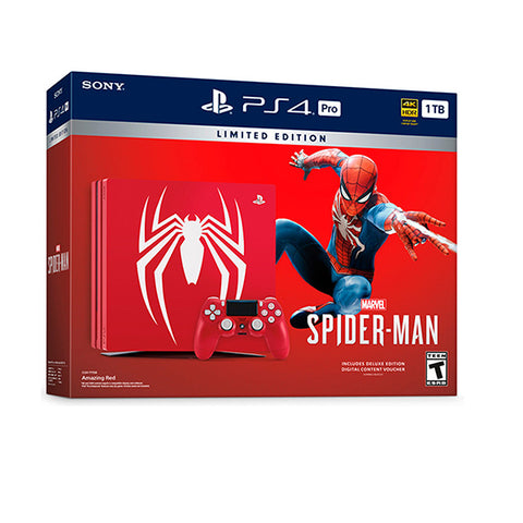 PS4 1 TB PRO SPIDERMAN-PS4 - Gamers