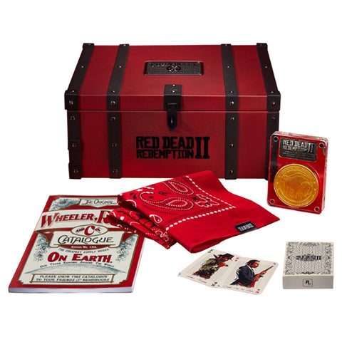 PREVENTA RED DEAD REDEMPTION 2 COLLECTORS BOX