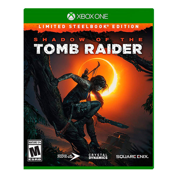 SHADOW OF THE TOMB RAIDER LIMITED STEELBOOK.-ONE
