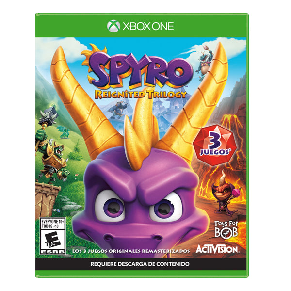 SPYRO REIGNITED TRILOGY ONE