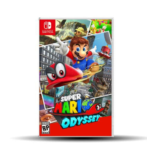 SUPER MARIO ODYSSEY.-NSW - Gamers
