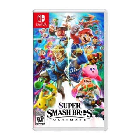 PREVENTA SUPER SMASH BROS NINTENDO SWITCH - Gamers