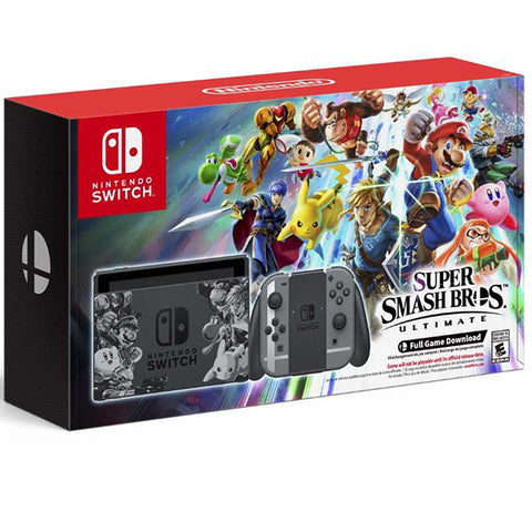 NINTENDO SWITCH SUPER SMASH BROS BUNDLE.-NSW - Gamers