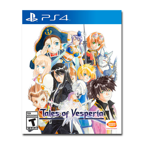TALES OF VESPERIA DEFINITIVE EDITION.-PS4 - Gamers
