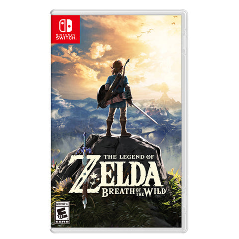 THE LEGEND OF ZELDA BREATH OF THE WILD.-NSW - Gamers