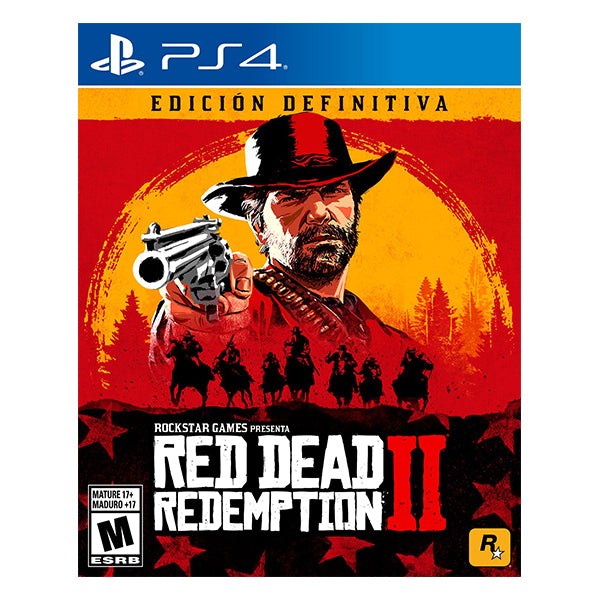RED DEAD REDEMPTION 2 ULTIMATE EDITION – PS4