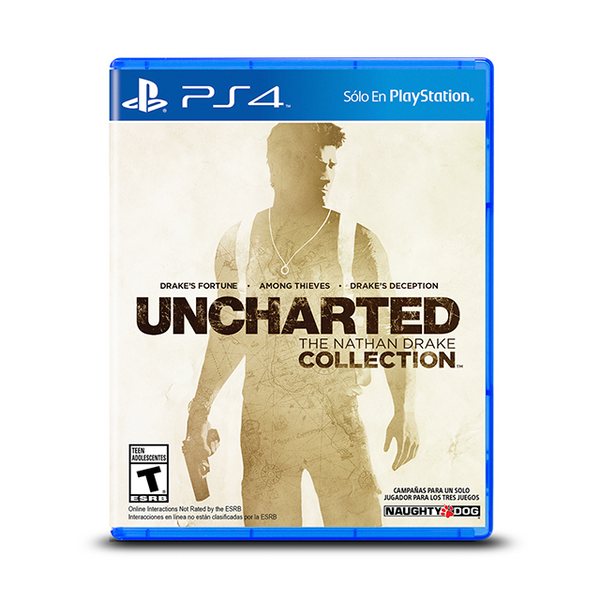 UNCHARTED COLLECTION.-PS4