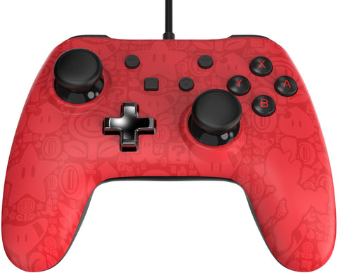 WIRED ICONIC CONTROLLER MARIO.-NSW - Gamers