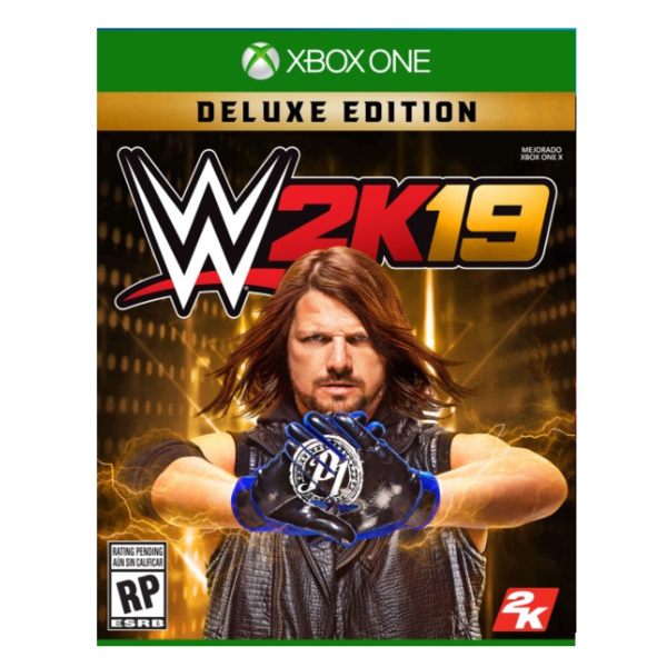 WWE 2K19 DELUXE EDITION.-ONE