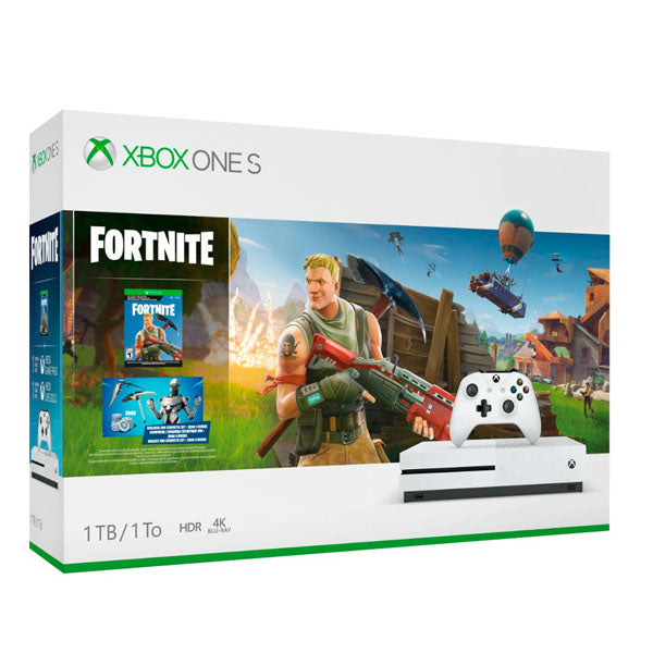 XBOX ONE S 1TB + FORTNITE