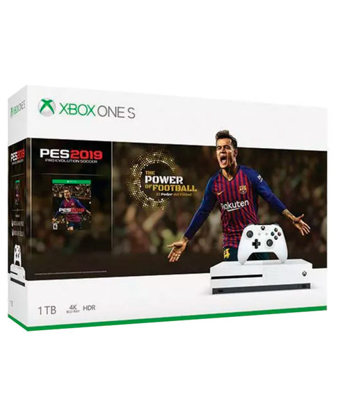 XBOX ONE S 1TB + PRO EVOLUTION SOCCER.-ONE