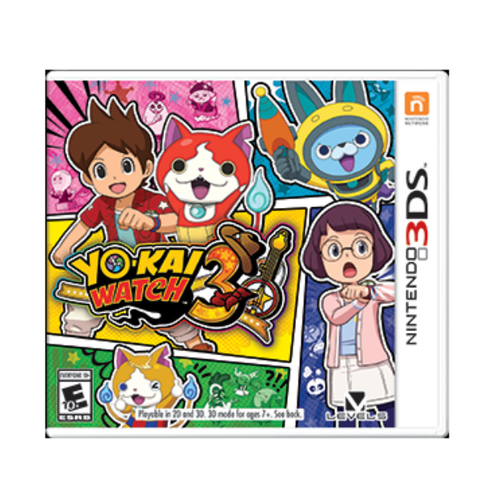 YOKAI WATCH 3.-3DS - Gamers
