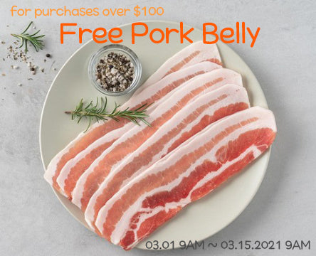 [Free Gift : Pork Belly]