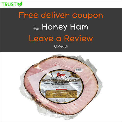 Honey Cured Spiral-Sliced Ham (appx. 7~9lbs)
