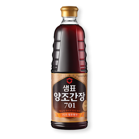 샘표 양조간장 701 (Sempio Naturally Brewed Soy Sauce) - 930ml