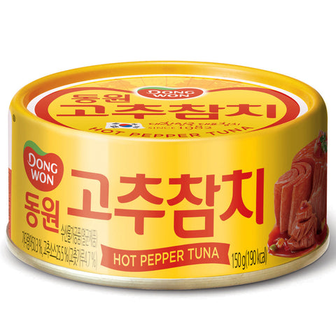동원 고추참치 (Dong Won Hot Tuna) - 150g