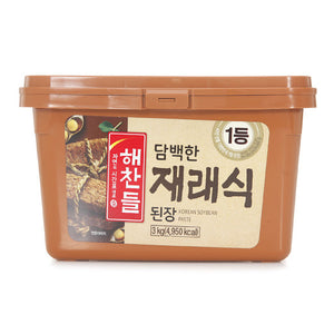 해찬들 재래식 된장 (Haechandle Jaerae Soy Bean Paste) - 3Kg