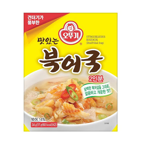 오뚜기 즉석 북어국 (Dried Pollack Soup Mix) - 32g/ea