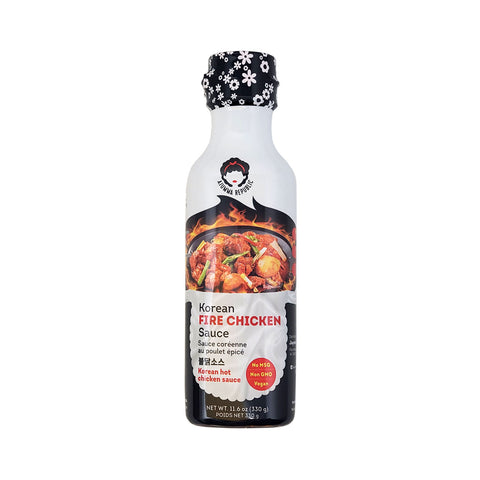 불닭소스 (Ajumma Republic Korean Fire Chicken Sauce) - 330g