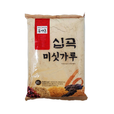 봉평촌 10곡 미싯가루 (Roasted 10 Grain Mix Powder) 900g