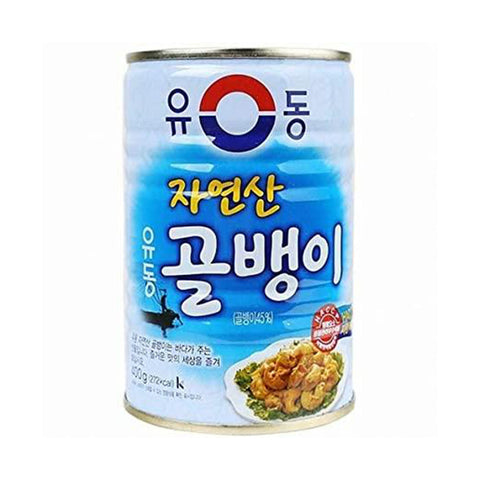 유동 골뱅이 (Yoodong Baitop Shells) - 400g/can