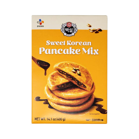 백설 호떡믹스 (Beksul Stuffed Sweet Pancake Mix) - 400g