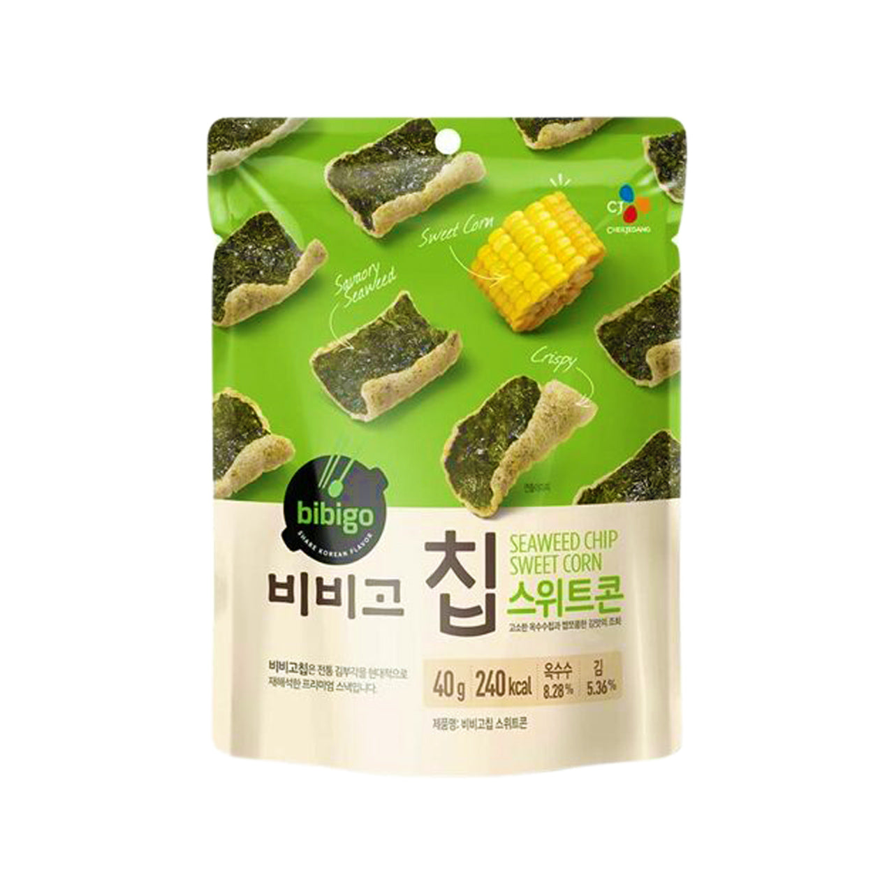 비비고 칩 스위트 콘 (Bibigo Sweetcorn Flavor chip) 40g