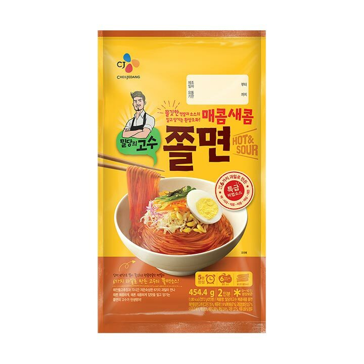 [Weekly Sale] 밀당의고수 쫄면 (Chewy Noodles Hot&Sour) - 454.4g