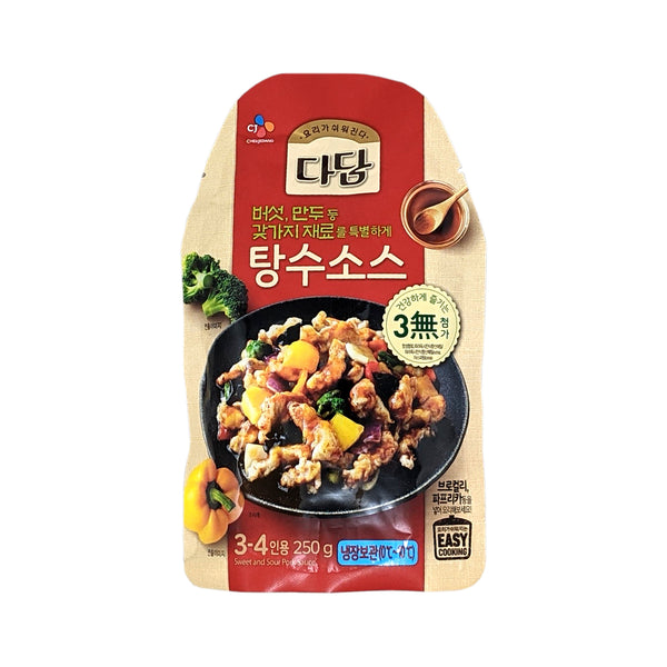 CJ 다담 탕수소스 (CJ Dadam Sweet & Sour Pork Sauce) - 250g