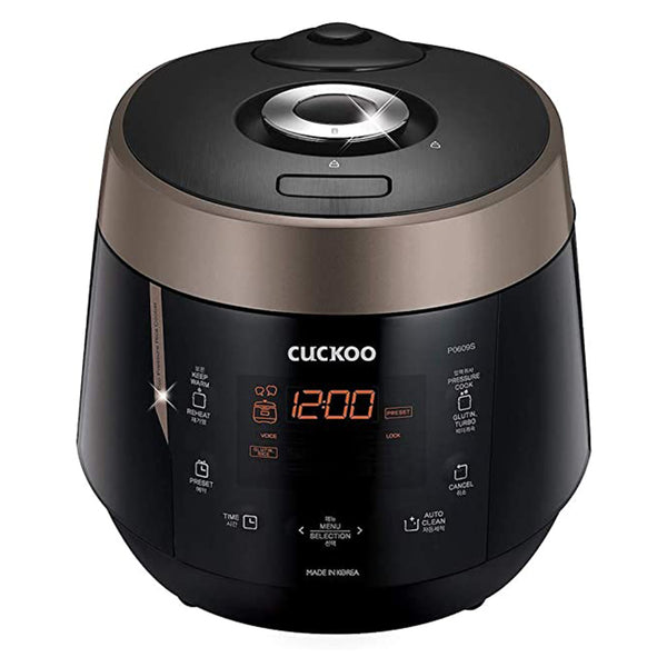 쿠쿠 전기압력밥솥 Cuckoo 6-Cup Electric Rice Cooker (CRP-P0609S)