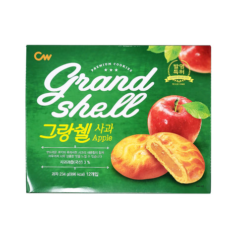 청우 그랑쉘 사과 (CW Grand Shell Cookie Apple) - 234g
