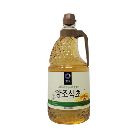 청정원 양조식초 (Chungjungone Brewing Vinegar) 1.8liter