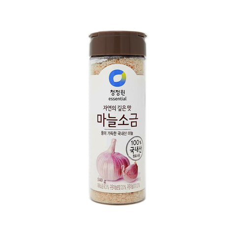 청정원 마늘소금 (Chungjungone Garlic Salt) 140g