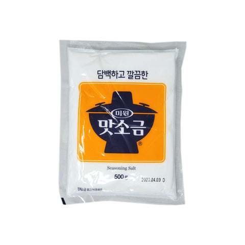 미원 맛소금 (Chungjungone Seasonning Salt) 500g