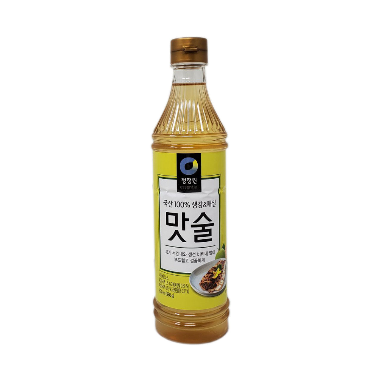 청정원 맛술 생강&미정 (Chungjungone Sushi Sauce w Ginger & Plum) 830ml