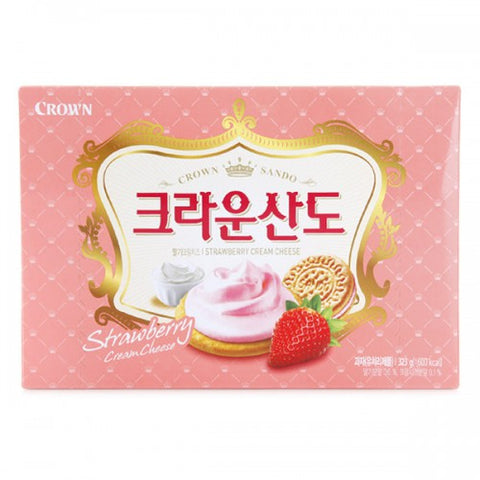 크라운 산도 딸기 (Crown Sando Strawberry) - 323g